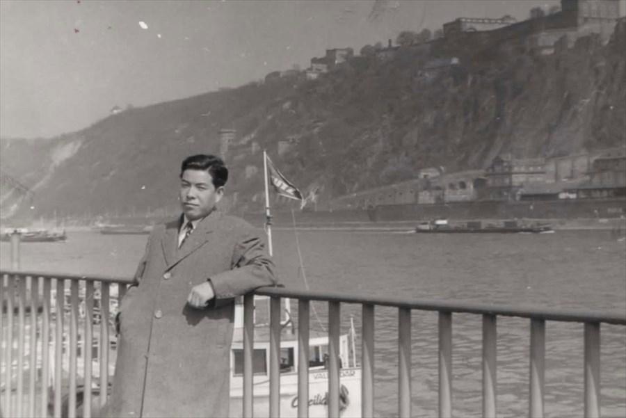 亡き父のヨーロッパ 1967年 ミシン組合ヨーロッパ視察旅行